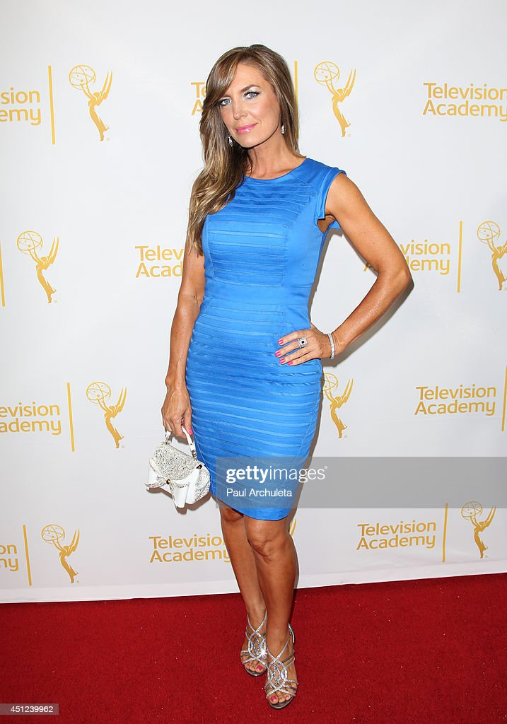 Actress <a gi-track='captionPersonalityLinkClicked' href=/galleries/search?phrase=Sandra+Vidal&family=editorial&specificpeople=236019 ng-click='$event.stopPropagation()'>Sandra Vidal</a> attends the Daytime Emmy Nominee Reception at The London West Hollywood on June 19, 2014 in West Hollywood, California.