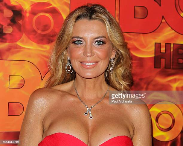 Actress Sandra Vidal attends the HBO's Official 2015 Emmy After Party at The Plaza at the Pacific Design Center on September 20 2015 in Los Angeles...