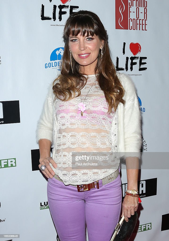 Actress Sandra Vidal attends the No Kill LA charity event at Fred Segal on April 2, 2013 in West Hollywood, California.