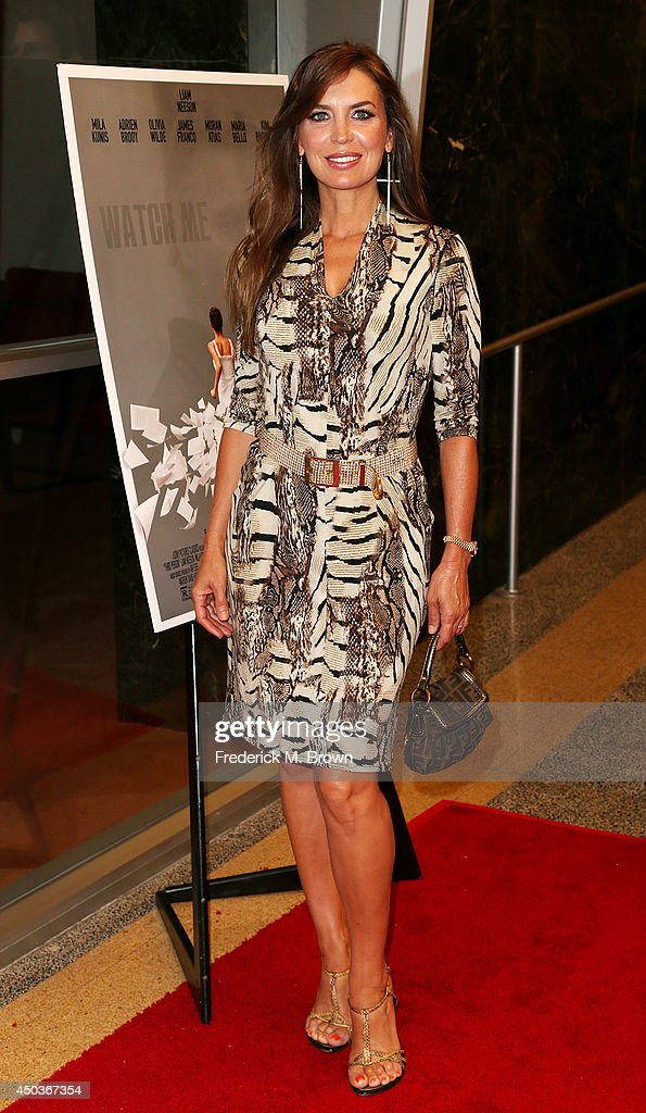 Actress <a gi-track='captionPersonalityLinkClicked' href=/galleries/search?phrase=Sandra+Vidal&family=editorial&specificpeople=236019 ng-click='$event.stopPropagation()'>Sandra Vidal</a> attends the premiere of Sony Picture Classics' 'Third Person' at the Linwood Dunn Theater Pickford Center for Motion Study on June 9, 2014 in Hollywood, California.