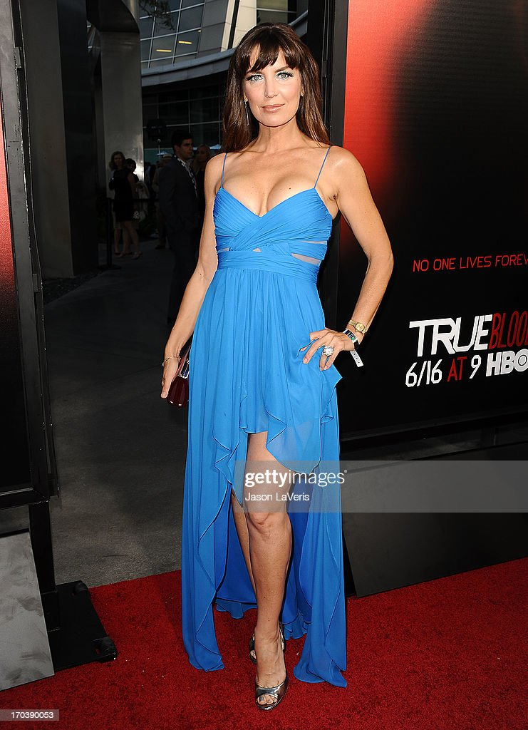 Actress Sandra Vidal attends the season 6 premiere of HBO's 'True Blood' at ArcLight Cinemas Cinerama Dome on June 11, 2013 in Hollywood, California.