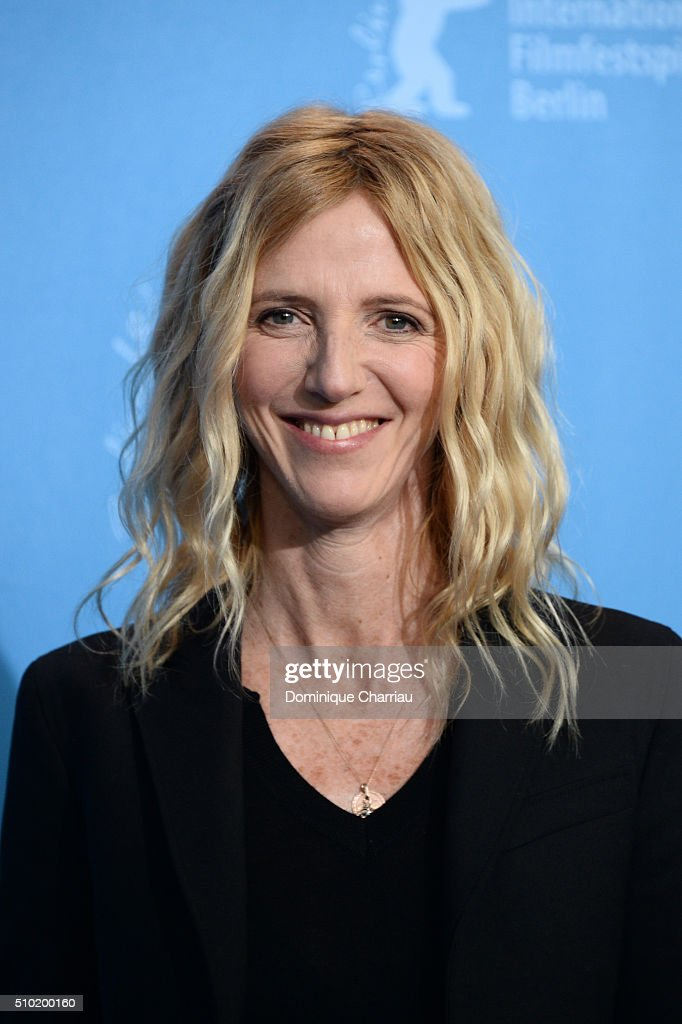 Actress Sandrine Kiberlain attends the 'Being 17' (Quand on a 17 ans) photo call during the 66th Berlinale International Film Festival Berlin at Grand Hyatt Hotel on February 14, 2016 in Berlin, Germany.