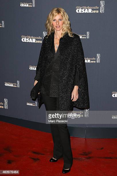 Actress Sandrine Kiberlain attends the 'CESARS' Film awards at Theatre du Chatelet on February 20 2015 in Paris France