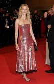 Actress Sandrine Kiberlain attends the 'Polisse' Premiere during the 64th Annual Cannes Film Festival at the Palais des Festivals on May 13 2011 in...