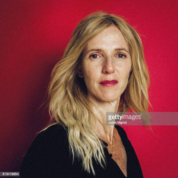 Actress Sandrine Kiberlain is photographed for Grazia Magazine on May 19 2016 in Cannes France