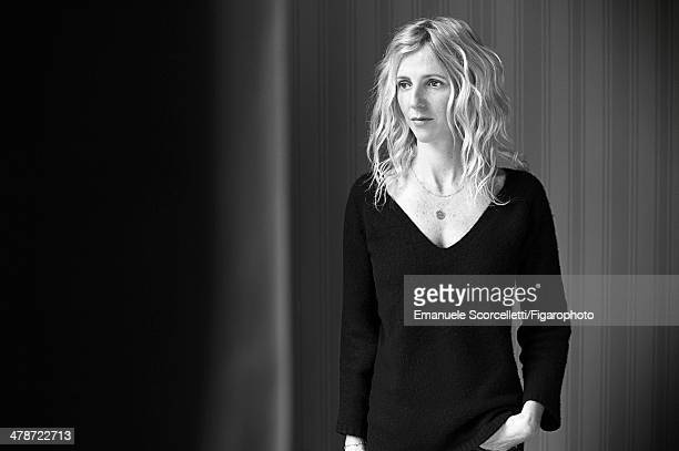 108881014 Actress Sandrine Kiberlain is photographed for Madame Figaro on January 20 2014 in Paris France PUBLISHED IMAGE CREDIT MUST READ Emanuele...