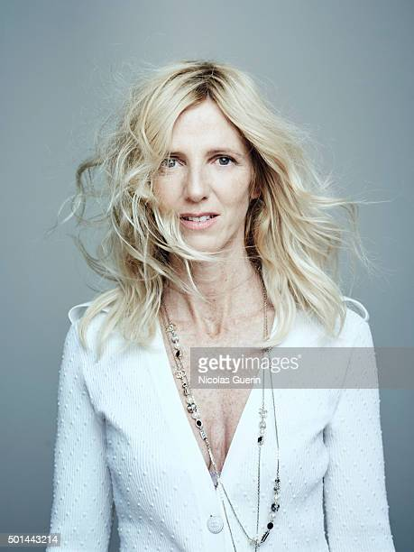 Actress Sandrine Kiberlain is photographed for Self Assignment on November 25 2015 in Paris France
