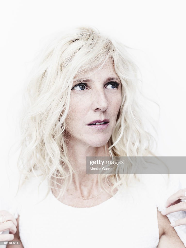 Actress Sandrine Kiberlain is photographed for Self Assignment on September 9, 2013 in Paris, France.