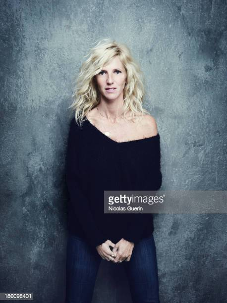 Actress Sandrine Kiberlain is photographed for Self Assignment on September 9 2013 in Paris France