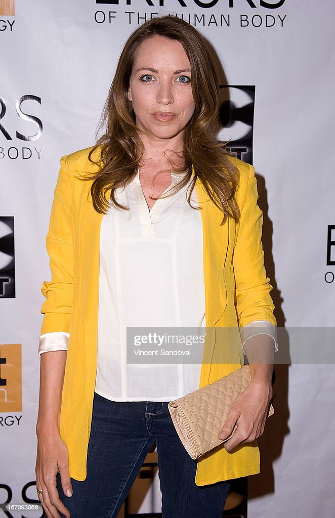 Actress Sanny Van Heteren attends the Los Angeles special screening of 'Errors Of The Human Body' at Arena Cinema Hollywood on April 19, 2013 in Hollywood, California.