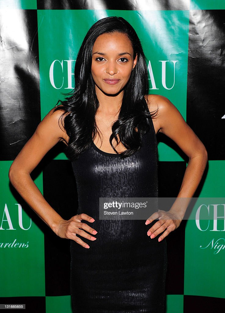 Actress Sanya Hughes arrives to host an evening at Chateau Nightclub & Gardens on June 3, 2011 in Las Vegas, Nevada.