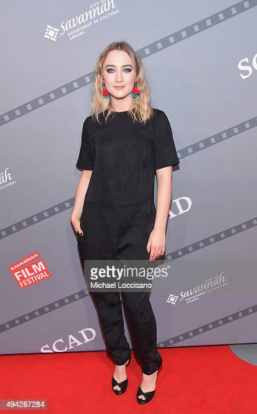 Actress Saoirse Ronan attends An Evening With Saoirse Ronan and 'Brooklyn' screening during 18th Annual Savannah Film Festival Presented by SCAD at...