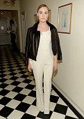 Actress Saoirse Ronan attends James Corden Vanity Fair And Burberry Celebrate The 2015 British Academy BAFTA Los Angeles Britannia Awards on October...