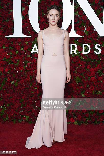 Actress Saoirse Ronan attends the 70th Annual Tony Awards at The Beacon Theatre on June 12 2016 in New York City