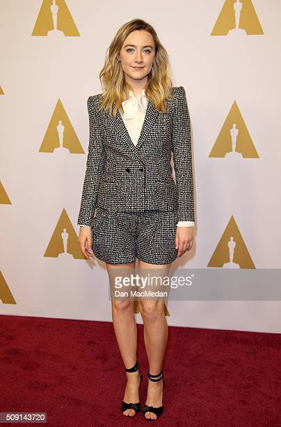 Actress Saoirse Ronan attends the 88th Annual Academy Awards Nominee Luncheon in Beverly Hills California
