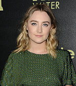 Actress Saoirse Ronan attends the Hollywood Foreign Press Association and InStyle's celebration of the 2016 Golden Globe award season at Ysabel on...