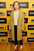 Actress Saoirse Ronan attends the IMDb Amazon Instant Video Studio on January 26 2015 in Park City Utah