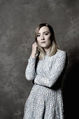Actress Saoirse Ronan is photographed during the BFI London Film Festival at The Mayfair Hotel on October 12 2015 in London England