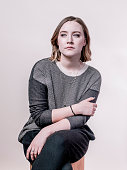 Actress Saoirse Ronan is photographed for Variety on February 3 2015 in Park City Utah