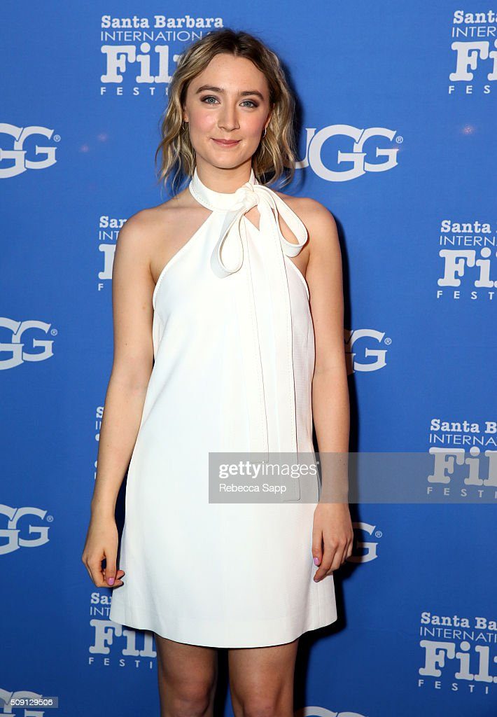 Actress Saoirse Ronan of 'Brooklyn' attends the Outstanding Performer of the Year ceremony at the Arlington Theater during the 31st Santa Barbara...