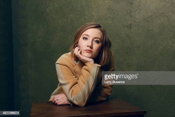 Actress Saoirse Ronan of 'Brooklyn' poses for a portrait at the Village at the Lift Presented by McDonald's McCafe during the 2015 Sundance Film...