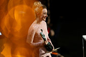 Actress Saoirse Ronan presents the award for Outstanding Performance by a Male Actor in a Supporting Role onstage during The 22nd Annual Screen...