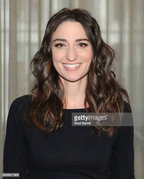 Actress Sara Bareilles attend the 'Waitress' New Cast Meet Greet at St Cloud at the Knickerbocker Hotel on March 23 2017 in New York City