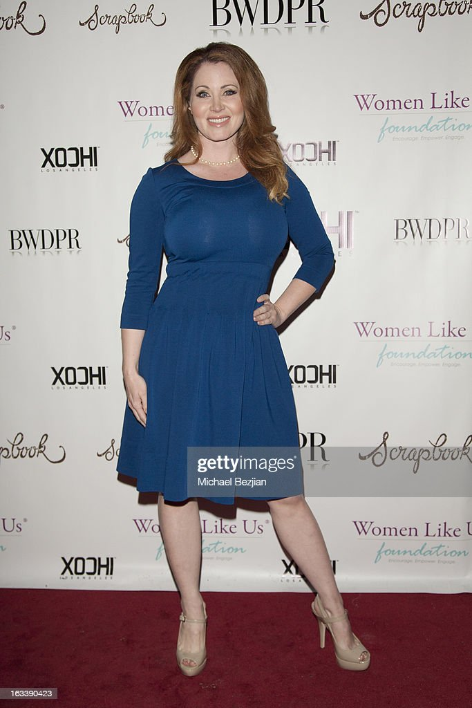 Actress Sara Barrett attends Pre-LAFW Launch Party In Support Of The Women Like Us Foundation at Lexington Social House on March 8, 2013 in Hollywood, California.