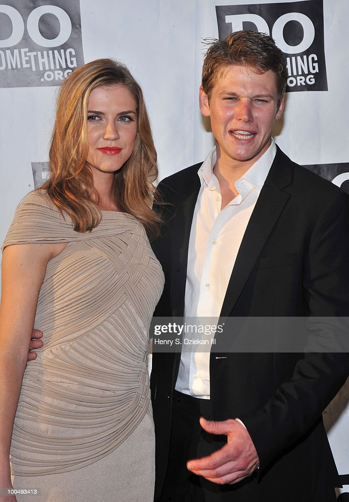 Actress Sara Canning and actor Zach Roerig attend DoSomething.org's celebration of the 2010 Do Something Award nominees at The Apollo Theater on May 24, 2010 in New York City.