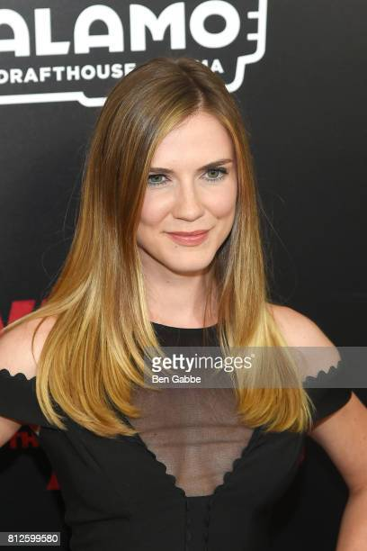 Actress Sara Canning attends the 'War for the Planet Of The Apes' New York Premiere at SVA Theater on July 10 2017 in New York City