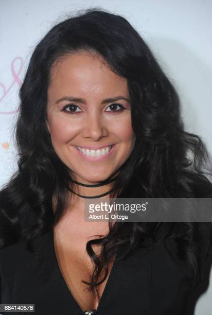 Actress Sara Castro at Sai Suman's Official Hollywood Runway Fashion Show held at Sofitel Hotel on April 11 2017 in Los Angeles California