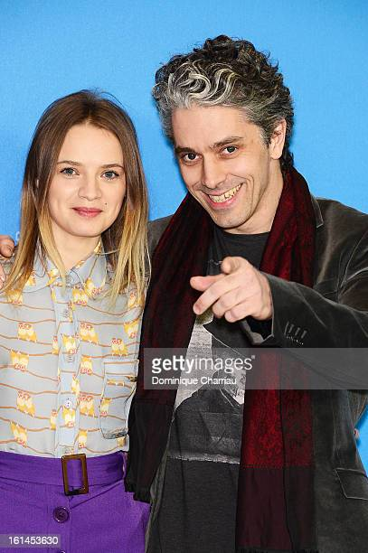 Actress Sara Forestier and actor James Thierree attend the 'Love Battles' Photocall during the 63rd Berlinale International Film Festival at the...