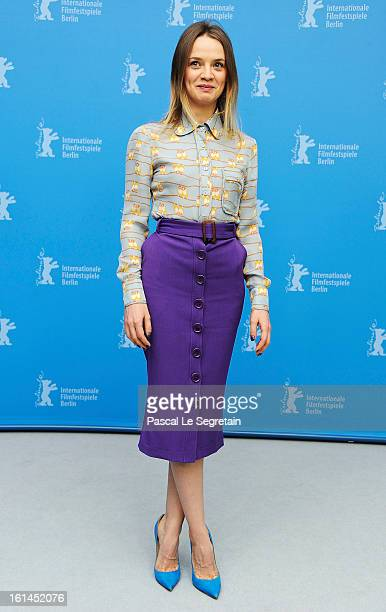 Actress Sara Forestier attends the 'Love Battles' Photocall during the 63rd Berlinale International Film Festival at the Grand Hyatt Hotel on...