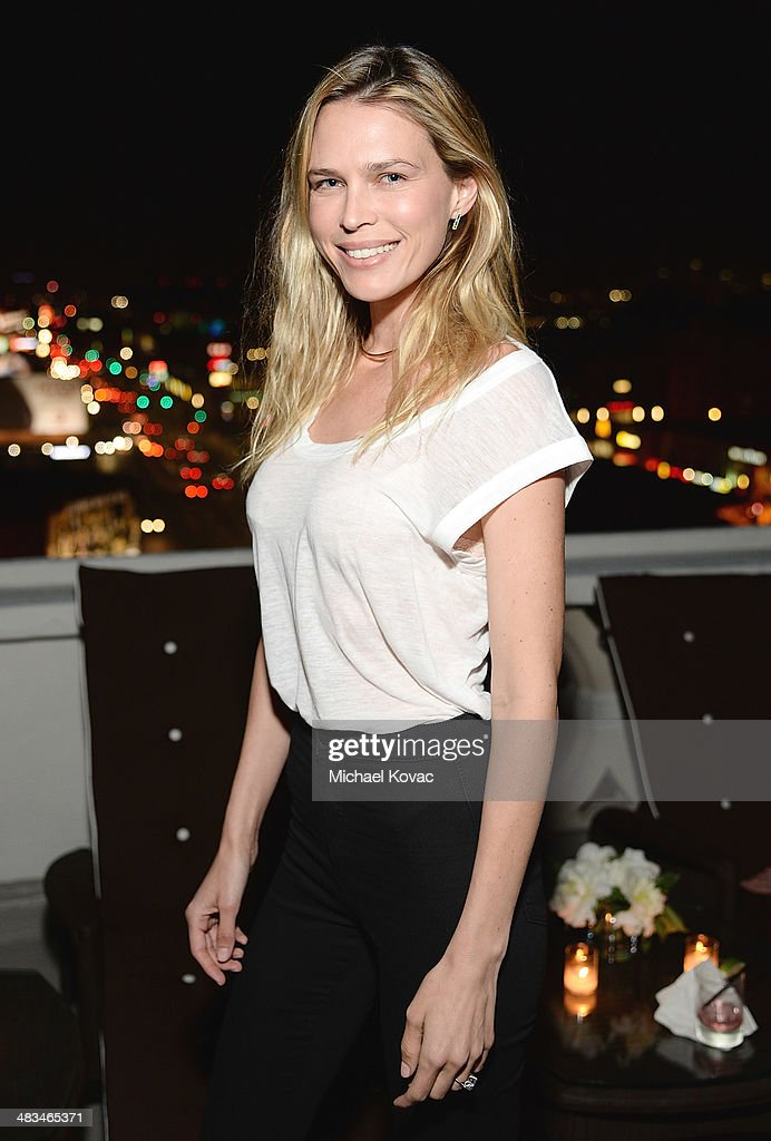 Actress <a gi-track='captionPersonalityLinkClicked' href=/galleries/search?phrase=Sara+Foster&family=editorial&specificpeople=208820 ng-click='$event.stopPropagation()'>Sara Foster</a> attends Kate Hudson celebrates the Little Black Dress Collection for Ann Taylor at Chateau Marmont on April 8, 2014 in Los Angeles, California.