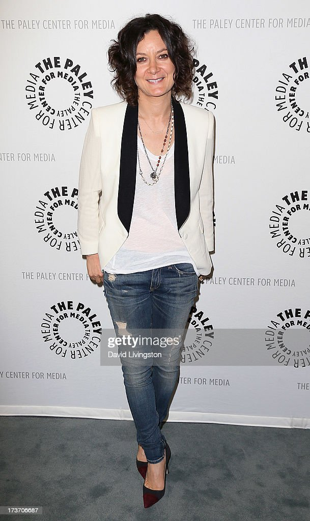 Actress Sara Gilbert attends 'An Evening with Web Therapy: The Craze Continues...' presented by The Paley Center for Media at The Paley Center for Media on July 16, 2013 in Beverly Hills, California.