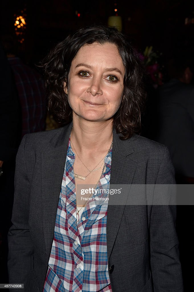 Actress Sara Gilbert attends Power of Pink 2014 Benefiting the Cancer Prevention Program at Saint John's Health Center at House of Blues Sunset Strip on October 23, 2014 in West Hollywood, California.