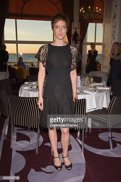 Actress Sara Giraudeau attends the 28th Cabourg Film Festival Opening Ceremany on June 12 2014 in Cabourg France