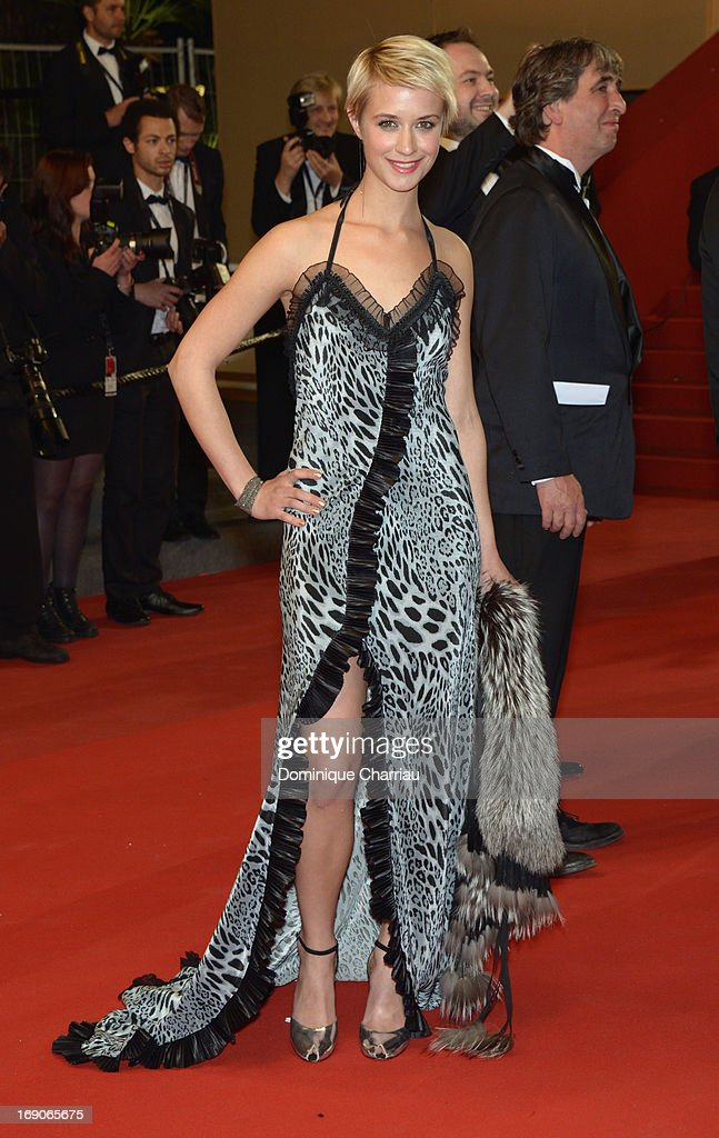 Actress Sara Hjort Ditlevsen attends the Premiere of 'Borgman' during The 66th Annual Cannes Film Festival at Palais des Festivals on May 19, 2013 in Cannes, France.