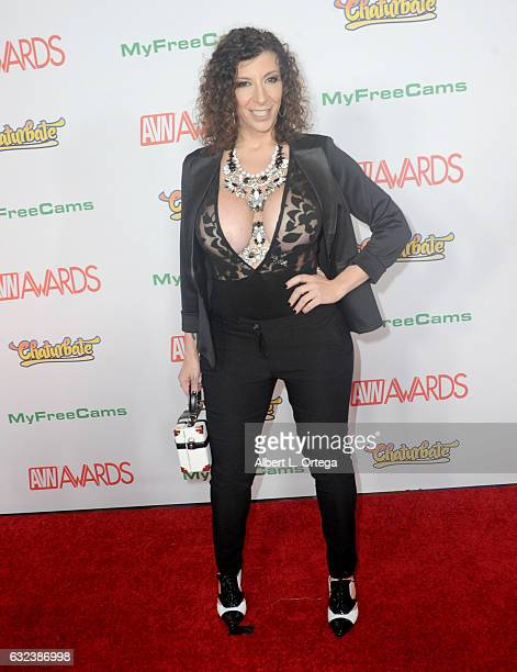 Actress Sara Jay arrives at the 2017 Adult Video News Awards held at the Hard Rock Hotel Casino on January 21 2017 in Las Vegas Nevada