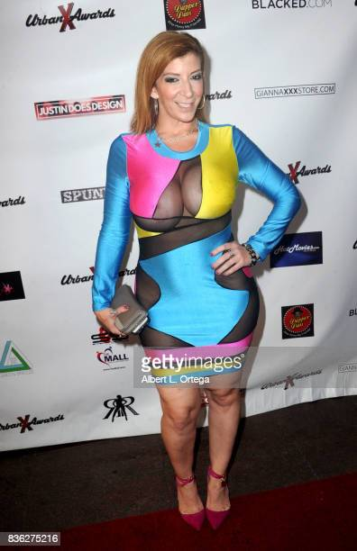 Actress Sara Jay arrives for the 6th Urban X Awards held at Stars On Brand on August 20 2017 in Glendale California