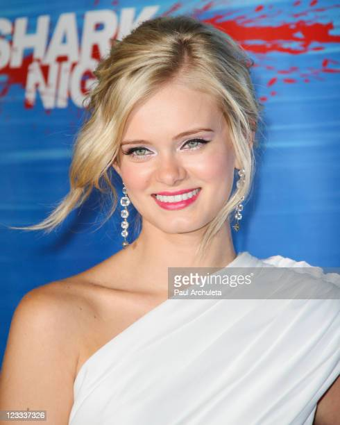 Actress Sara Paxton arrives at the 'Shark Night 3D' Los Angeles special screening at Universal CityWalk on September 1 2011 in Universal City...