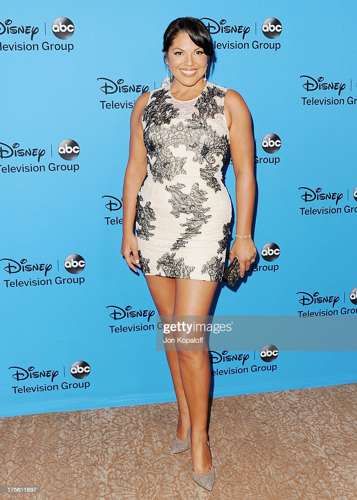 Actress Sara Ramirez arrives at the Disney/ABC Party 2013 Television Critics Association's Summer Press Tour at The Beverly Hilton Hotel on August 4, 2013 in Beverly Hills, California.