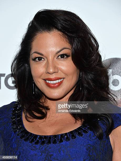 Actress Sara Ramirez arrives at the #TGIT Premiere Event hosted by Twitter at Palihouse Holloway on September 20 2014 in West Hollywood California