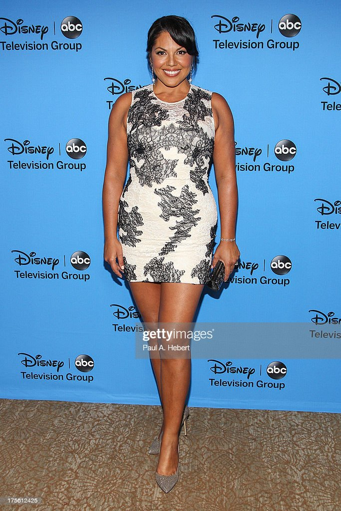 Actress Sara Ramirez attends the Disney & ABC Television Group's '2013 Summer TCA Tour' at The Beverly Hilton Hotel on August 4, 2013 in Beverly Hills, California.