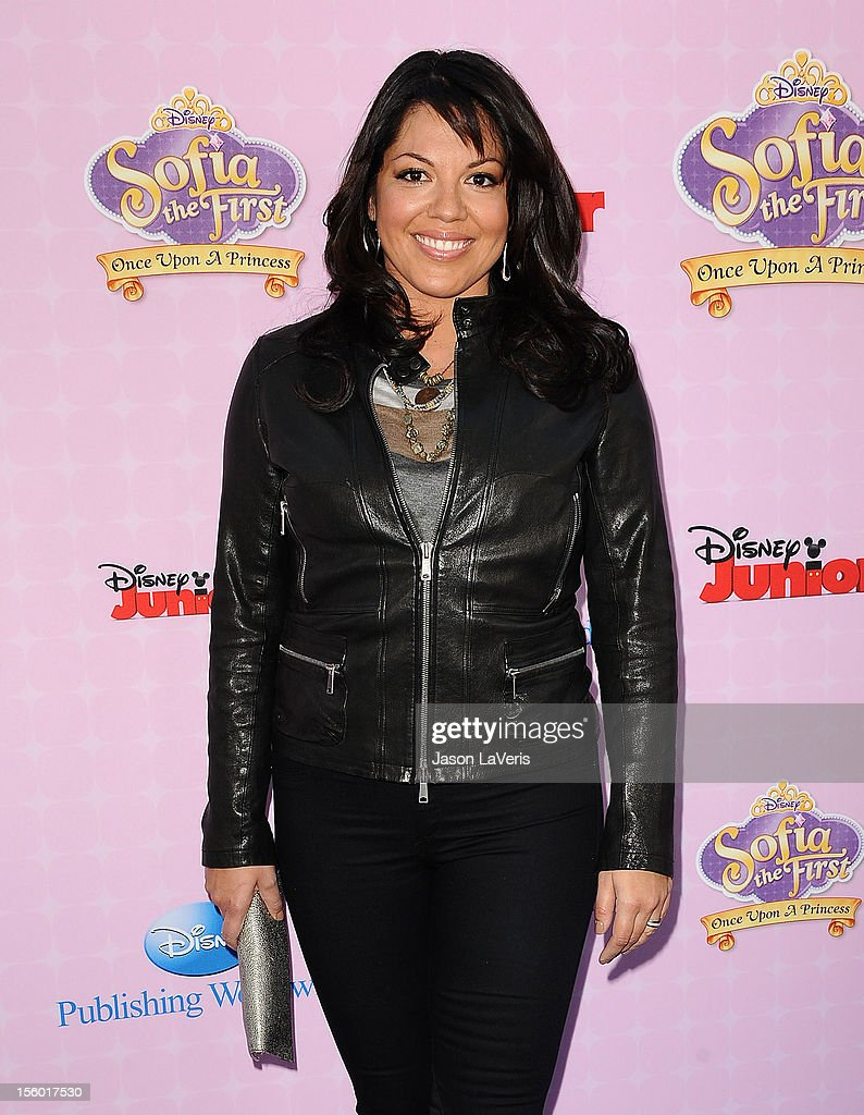 Actress Sara Ramirez attends the premiere of 'Sofia The First: Once Upon a Princess' at Walt Disney Studios on November 10, 2012 in Burbank, California.