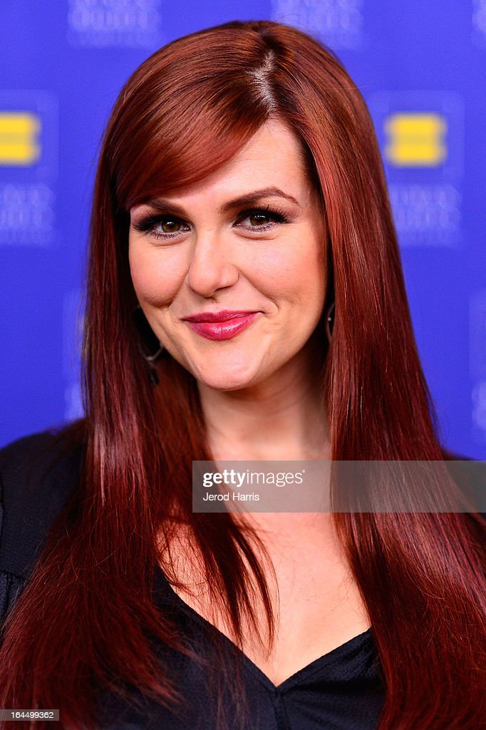Actress Sara Rue arrives at Human Rights Campaign dinner gala at the JW Marriott at L.A. LIVE on March 23, 2013 in Los Angeles, California.