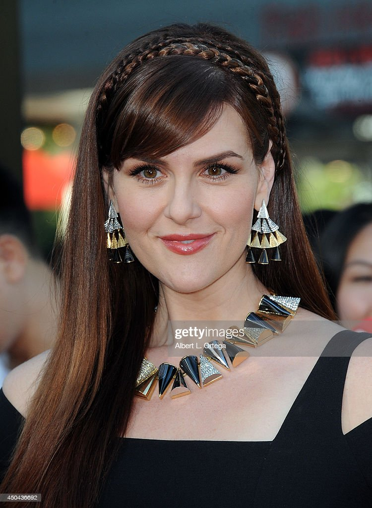 Actress Sara Rue arrives for the Premiere Of Columbia Pictures' '22 Jump Street' held at Regency Village Theatre on June 10, 2014 in Westwood, California.