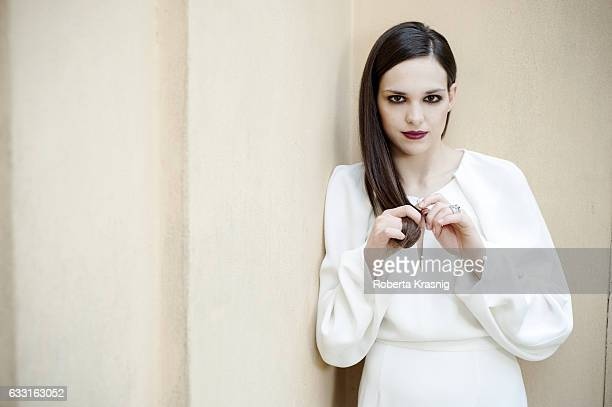 Actress Sara Serraiocco is photographed for Self Assignment on June 7 2013 in Rome Italy