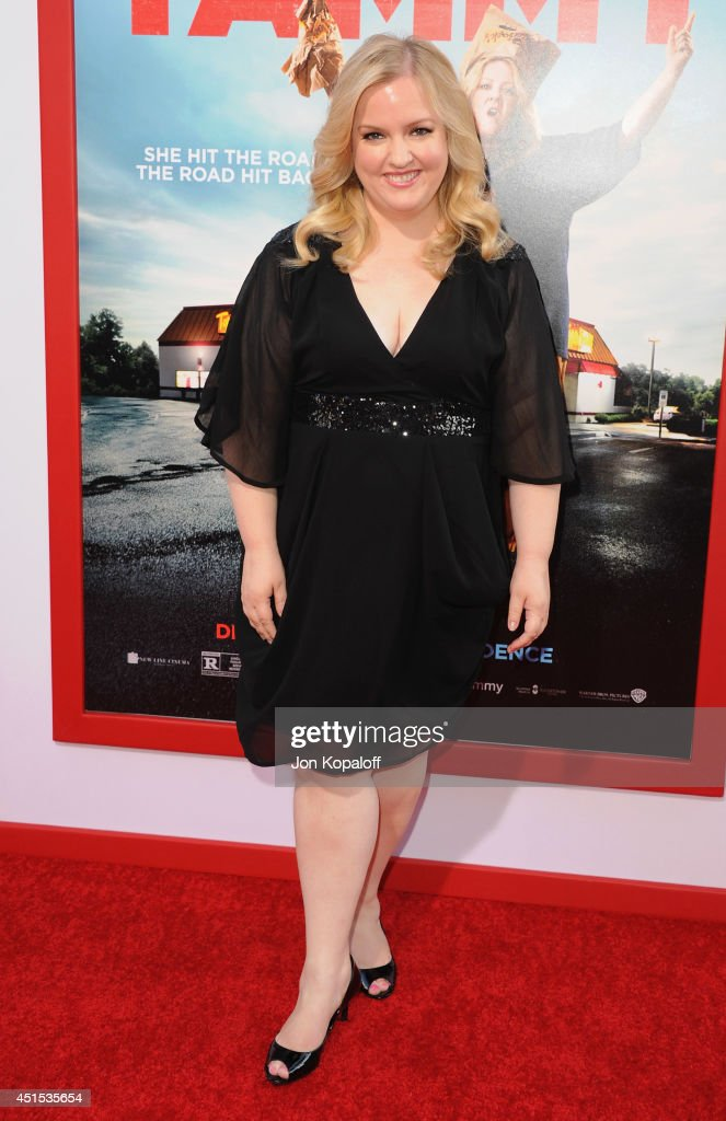 Actress Sarah Baker arrives at the Los Angeles Premiere 'Tammy' at TCL Chinese Theatre on June 30, 2014 in Hollywood, California.