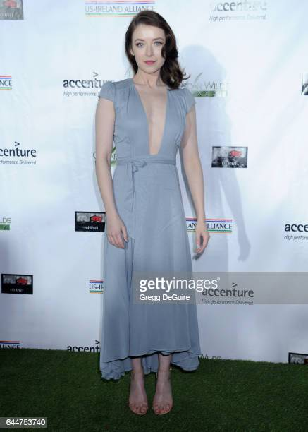 Actress Sarah Bolger arrives at the 12th Annual Oscar Wilde Awards at Bad Robot on February 23 2017 in Santa Monica California